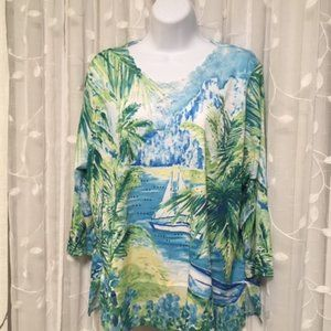 Alfred dunner top  Size Lgood condition